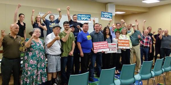 Wellstone supports single payer healthcare